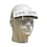 Face Shield Certified to CE, PU Foam Headband, Soft Elastic Strap