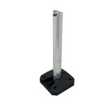 Aluminium Floor Standing Heavy Duty Hand Sanitiser Dispenser