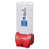 Armorgard Sanistation S20 PVC Mobile Hand Sanitiser Station