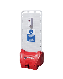 Armorgard Sanistation S20 PVC Mobile Hand Sanitiser Station