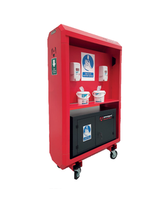 Armorgard Sanistation S40 Heavy Duty Steel Hand Sanitiser Station